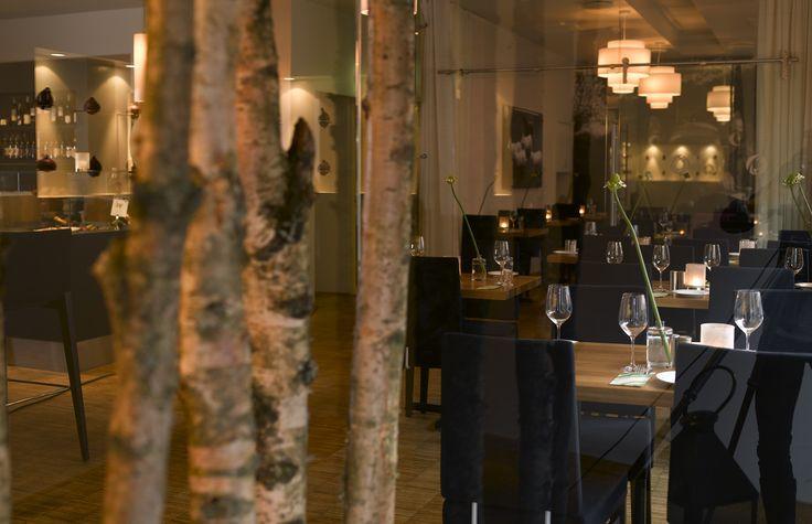 Interiør - Restaurant Måltid Kristiansand.  Arkitekt: Janicke Jebsen Vinje og Jan Egil Løvdahl