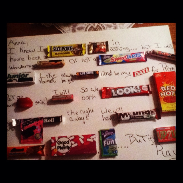 87 best prom proposals and date ideas images on pinterest dance cute candy bar poster to ask someone to prom ccuart Images