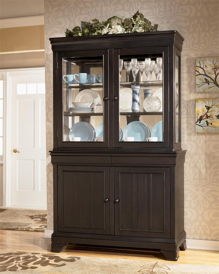 Ashley furniture louden china cabinet in our house
