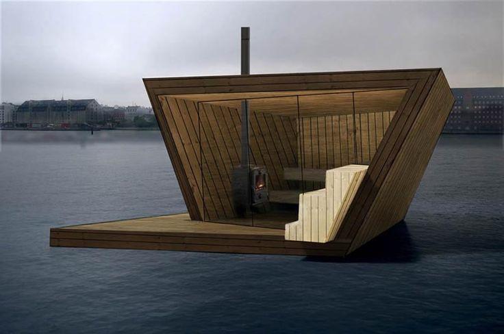The Floating Sauna of Copenhagen