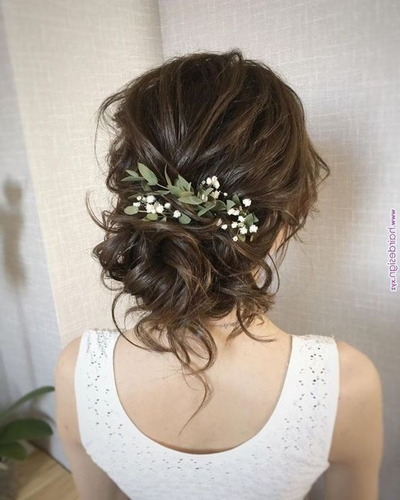 Stunning Wedding Hairstyles Ideas in 2019, Just like treding wedding decor, wedd…