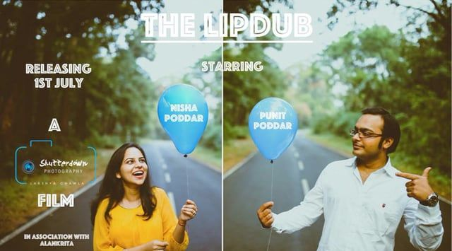 A super cool lipdub shot in Siliguri with this super cool couple - Nisha and Punit