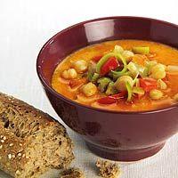 Recipe in Dutch! Easy Thai chickpea soup.