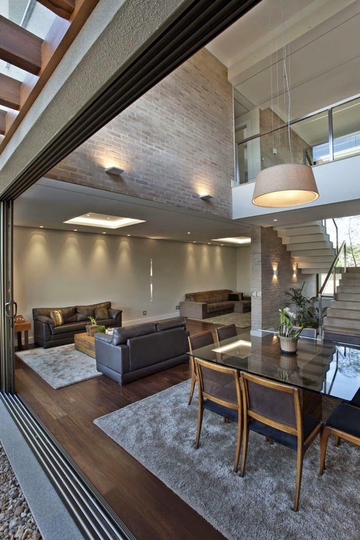 Decor Salteado - Blog de Decoração e Arquitetura : Casa brasileira com arquitetura e decoração moderna - linda!