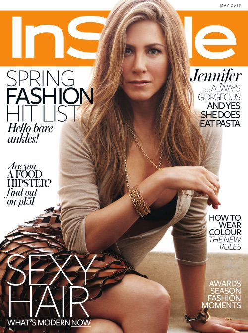 Jennifer Aniston (2015.05. InStyle)