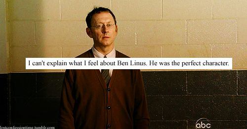 He was truly brilliant. I may have been Team Jack, but Ben was my on-the-side man.