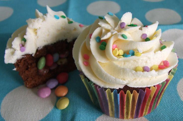 Piñata cupcakes by Little Aardvark Cakery (www.littleaardvarkcakery.com)