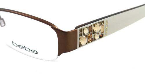 White Bebe Eyeglass Frames : bebe 5015 glasses frames BEBE EYEGLASSES BB 5015 WHITE ...