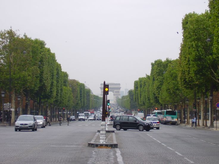 Avenida Champs Elysées - as melhores fotos de Paris