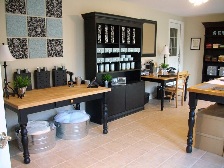 Exceptional To Do: Paint Sewing Studio Furniture Black So It All Matches!