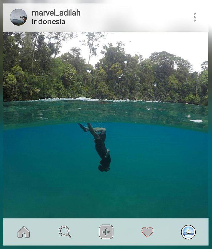 Deep in my heart   tag your travelmate  . . location : #labuancermin #Derawan Credit to: @marvel_adilah . . Gunakan hashtag #travelmate siapa tau foto kamu selanjutnya yg kami repost  . . . #pendakikeren #pendakiceria #sahabatpendaki #blueskies #love #work #sports #follow #likes #travel #nature #traveling #vacation #borneo #kalimantan #freediving #diving #water #natgeo #travelmate #indotravel #bluewater #gopro #deep Travelmate Today IndonesiaTravelmate Today Indonesia
