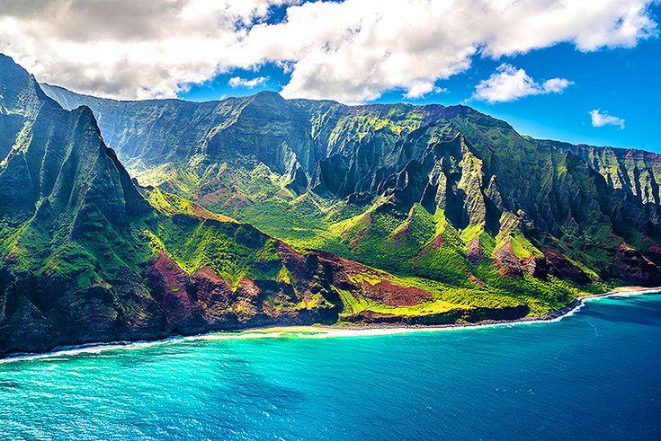 Utforska Nā Pali-kusten på Kauai