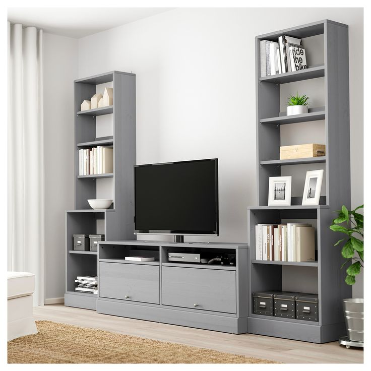 Ikea Havsta Tv Storage Combination Gray Tv Storage