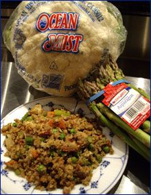 pork fried cauliflower rice Paleo Recipe