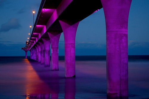 New Brighton Pier - Christchurch by AussieDingo, via Flickr
