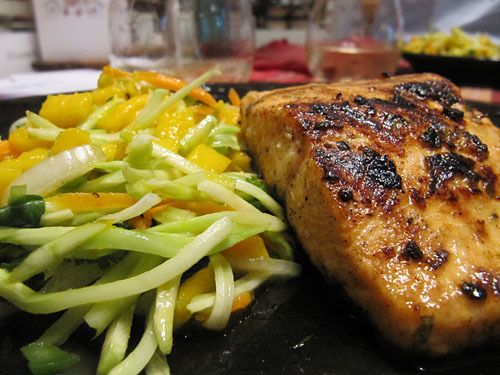 Grilled Chile-Lime Arctic Char - made this for dinner tonight and it was DELICIOUS!