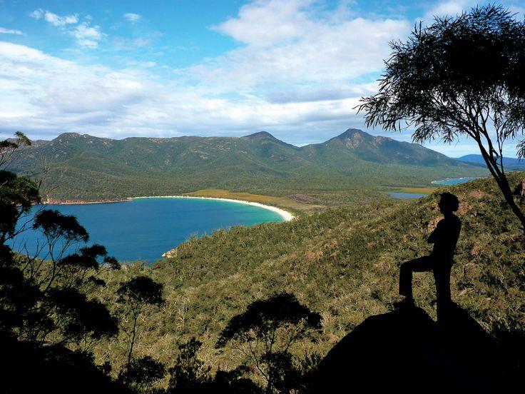 Wineglass Bay, Tasmania - Australia 2011 #Oz #australia #tasmania #travel #island #voyage #ile #soleil #ocean