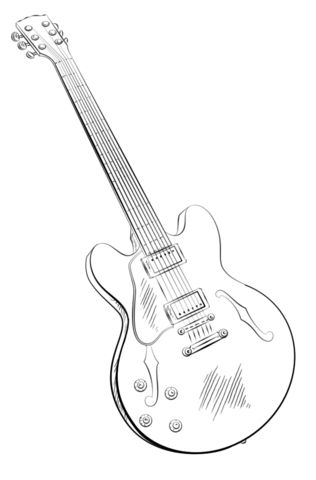 Best 25 Guitarra para colorear ideas on Pinterest  Correas de