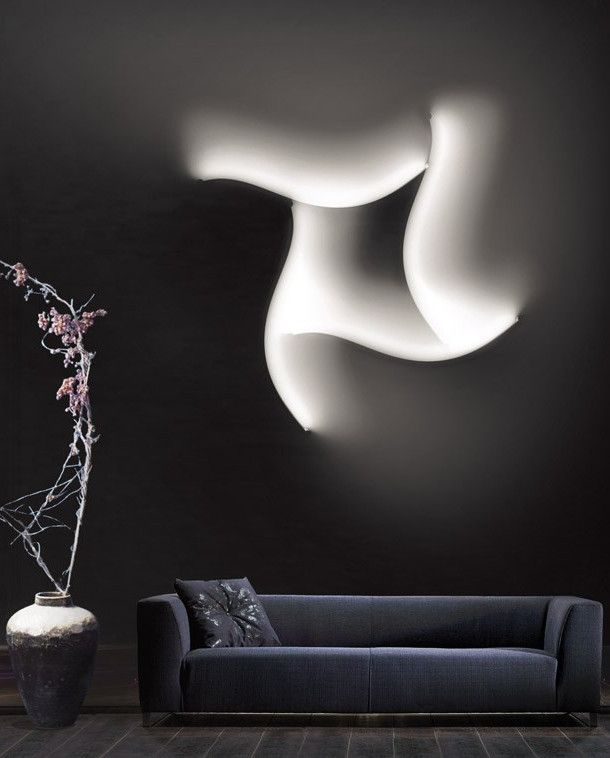 led wall lamp formala plus 1 by cininils design luta bettonica - Designer Wall Lamps