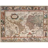 Ravensburger - Map of World From 1650 Puzzle -2000pc