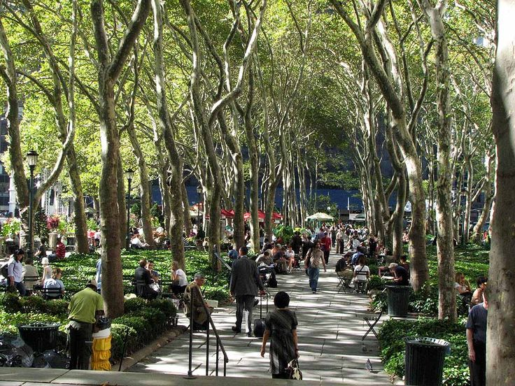 Bryant Park in New York City, New York