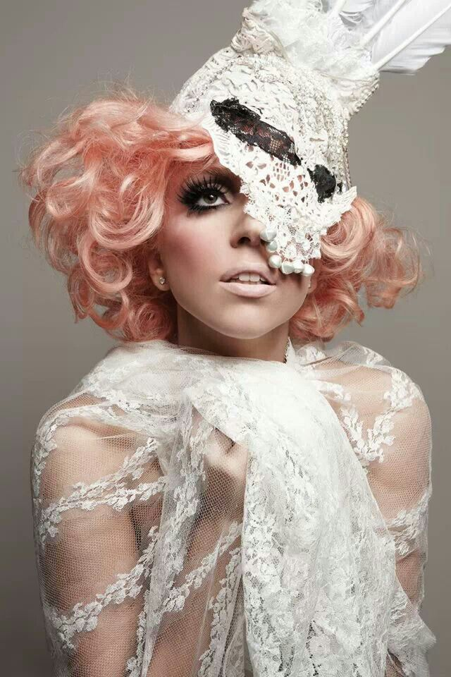 Lace Animal Masks: Check Out Lady Gaga in the Vanguard Issue of 944