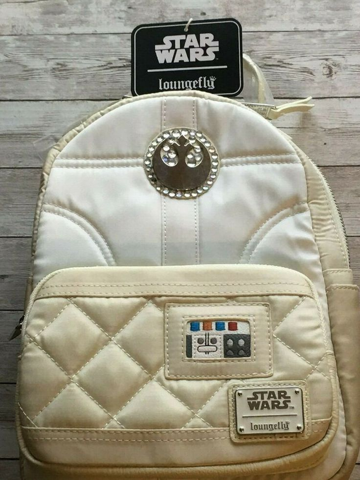 Loungefly disney bling blinged out star wars princess leia