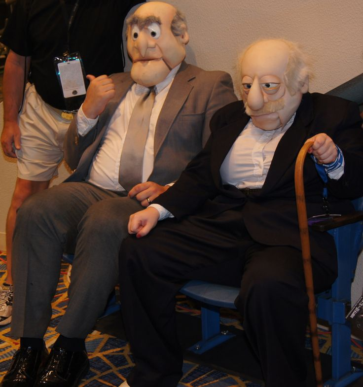 #DragonCon2011 Cosplay Statler and Waldorf