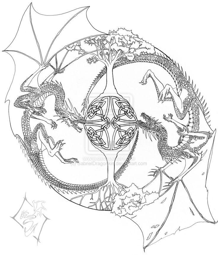 yin yang yo coloring pages - photo#47