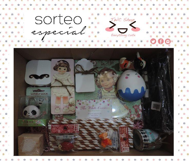 ¡¡Sorteazo en TWC!! Consigue esta cajita valorada en 62€ con productos de nuestra tienda. www.whitecor.blogspot.ca