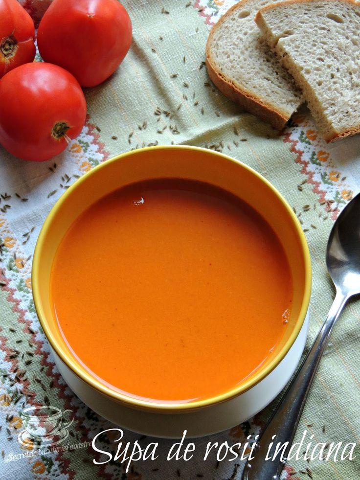 supa de rosii, supa de rosii reteta, retete indiene, reteta supa de rosii