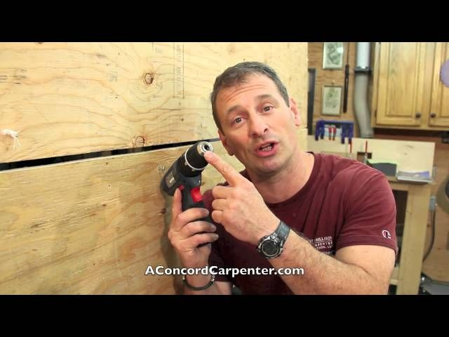 Stripped screws are a fact of life, and can throw a wrench into a smooth running DIY project. Here's the best way to remove a stripped screw with your cordless drill.
