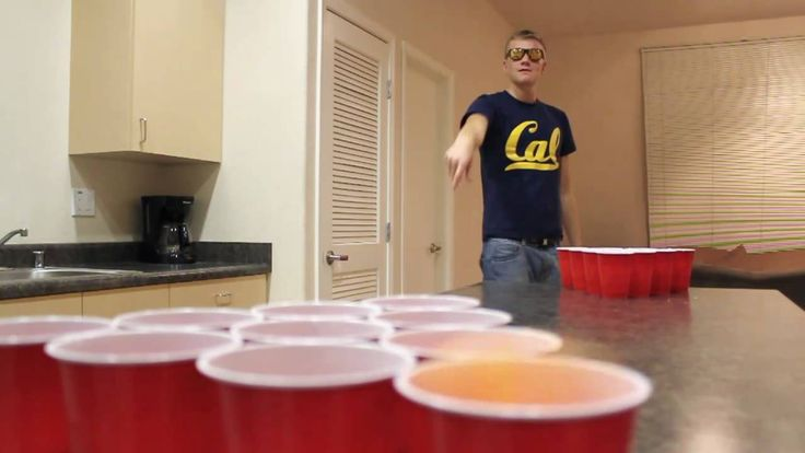Amazing real beer pong trick shots  Learn more about beer pong at www.beerpongextreme.com