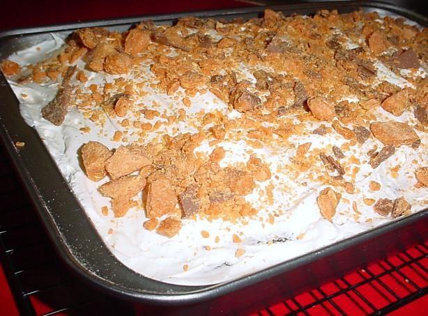 Caramel Topped Chocolate Cake