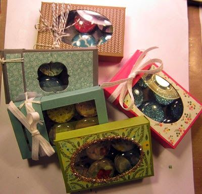 Crafty Maria's Stamping World: Window box made with Envelope Punch board & framelits - a tutorial