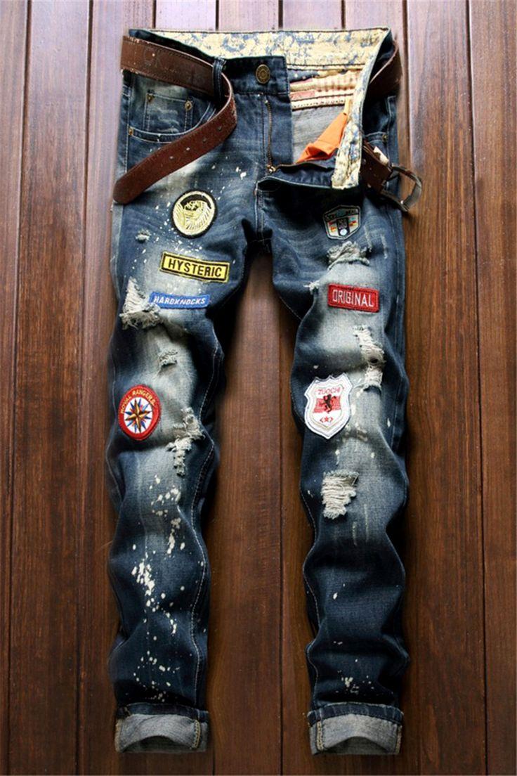 909 Best Men S Creative Jeans Images On Pinterest Man