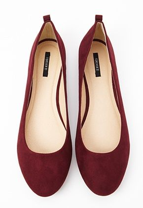 Let a tiny hint of Marsala peek out from under your dress, plus you know you'll wear these again and again