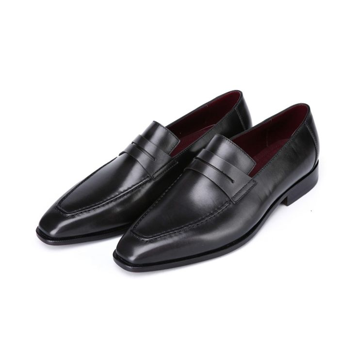 (174.00$)  Watch more here  - TERSE_Mens loafers shoes handmade fashion leather dress shoes venezia cow leather flats shoes goodyear welted engraving service