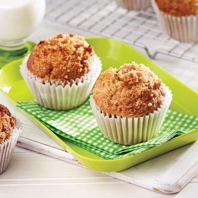 Fait mais je n'ai pas aimé le gout .Muffins aux pommes - Recettes - Cuisine et nutrition - Pratico Pratique