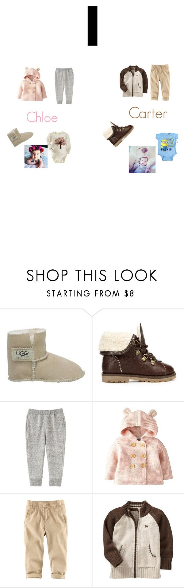 """Baby"" by hailey-donna on Polyvore featuring UGG Australia, Gap, Zara, Uniqlo, Mini Boden, H&M and Old Navy"