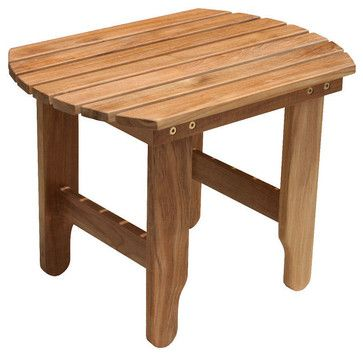 Douglas Nance Adirondack Side Table traditional-outdoor-tables