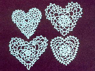 Ravelry: Heart Quartet pattern by Hazel Furst