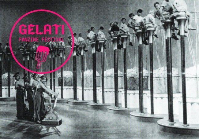 GELATI fanzine festival 2013. Genova