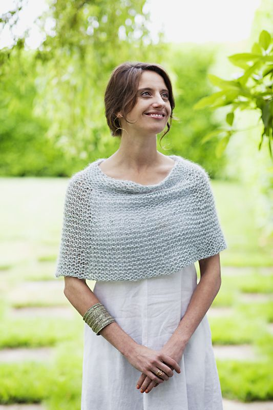 Ravelry: Shoulder Cozy pattern by Churchmouse Yarns and Teas