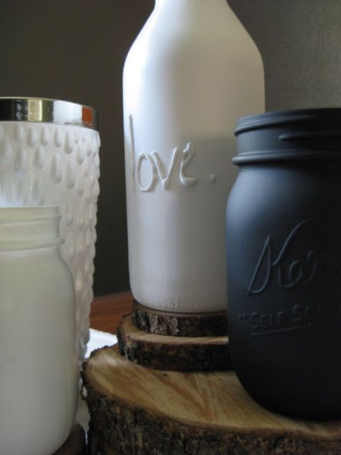 pure and noble: Spray Painting Tips, great idea for sibling gifts