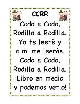 Leer con alguien Spanish Daily 5 Posters