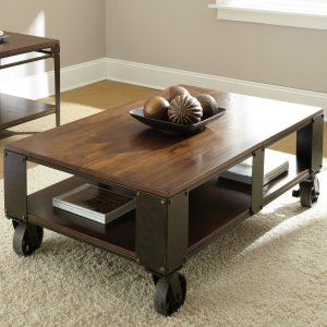 Industrial Coffee Tables on Hayneedle - Industrial Coffee Tables For Sale