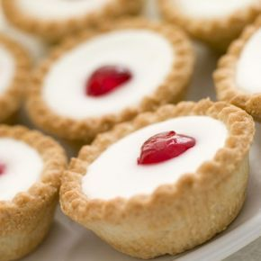 A very yummy recipe for cherry bakewell tarts. This is a family favorite recipe.. Cherry Bakewell Tarts Recipe from Grandmothers Kitchen.