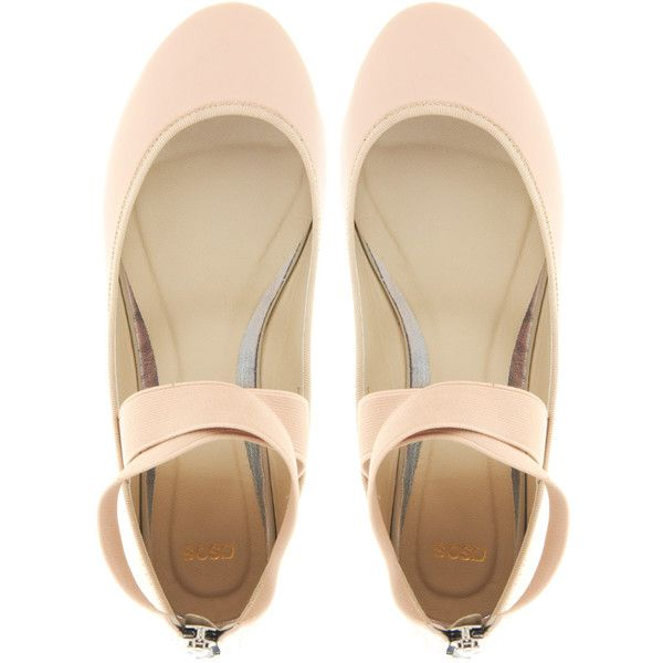 ASOS LOST Ballet Flats ($42) ❤ liked on Polyvore
