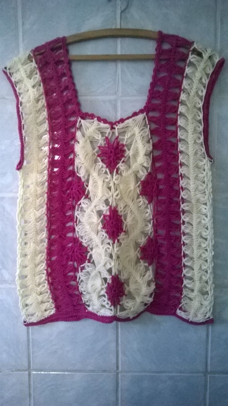 273 best hairpin lace images on pinterest ponchos crafts and blusa em croche de grampo com fios anne bankloansurffo Image collections